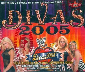 "WWE DIVAS 2005 ""SEALED HOBBY BOX"" FLEER FREE SHIPPING STRATUS KEIBLER WILSON"