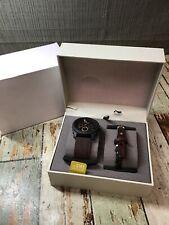 Fossil FS5251SET Men's leather Watch and Bracelet Set - Brown *READ*