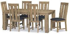 Light Wood Tone Dining Furniture Set