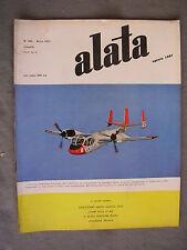 ALATA # 194 - RIVISTA AERONAUTICA - AGOSTO 1961 - BUONO