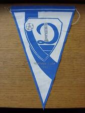 "1980's Dynamo Minsk (Russia) Club Pennant - Approx 10 "" (slight creased)"