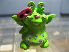 Hallmark Halloween 1990 Merry Miniature Green Monster With Mask