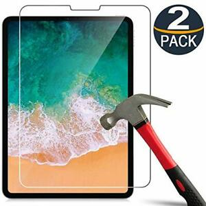 2-Pack Tempered Glass Screen Protector For Apple iPad Pro 11 inch 2021/2020/2018