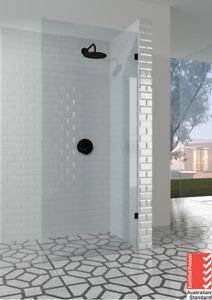 10mm Frameless Shower Walk In Panel 500/600/700/800/900/1000/1100/1150/1200mm B