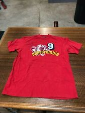 ABECROMBIE & FITCH - BRAND NEW RED SHORT-SLEEVE T-SHIRT- SIZE YOUTH LARGE