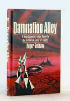 Roger Zelazny First Edition 1969 Damnation Alley Hardcover w/DJ Inspired Fallout