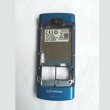 100% Genuine Original Nokia X3-02 Middle Fascia Housing - Blue