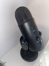 BlueProfessional Multi-Pattern  Microphone - Black Microphone ONLY