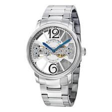 Stuhrling 785B 01 Winchester County Mechanical Bridge SS Bracelet Mens Watch