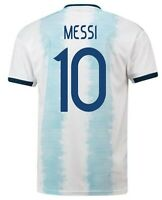 Lionel Messi 2020-2021 Home Argentina Soccer Jersey