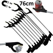 10X Pick Up Reaching Tool Aluminium Magnetic Litter Picker Grabber 76Cm Mobility