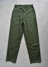 Vtg '86 US Army OG-507 Durable Press Utility Military Trousers Pants Small 28x30