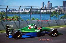 Bertrand Gachot Jordan 191 canadiense Grand Prix 1991 fotografía 1