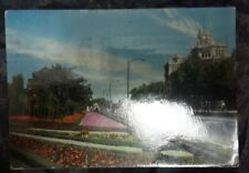 Postcard Madrid- Prado's Walk- Allee des Prado- Spain