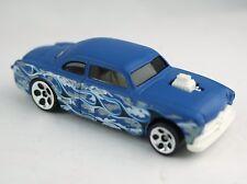 Mattel Hot Wheels Camouflage Shoe Box 1:64 Diecast Blue W/Flames Car 2000 Used*