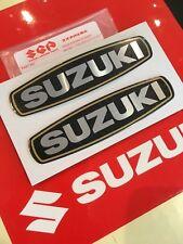 Genuine Suzuki Engine Emblem Decal Sticker Set Pair Left Right GT550 GT125 A100