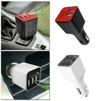 3 USB Car Charger Ionizer Oxygen Generator Cleaner Portable Air Purifier I6M9
