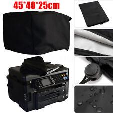 Black Polyester-cotton Fiber Printer Dust Cover 18X16x10'' for Workforce WF-3620