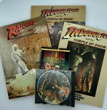 Vintage Indiana Jones , Storybook and collectibles lot