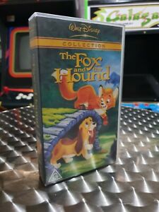 The Fox And The Hound - Walt Disney - VHS Video Tape