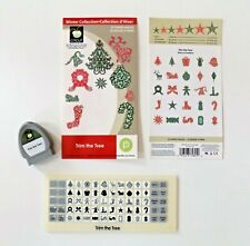 "Cricut Cartridge ""Trim the Tree"" (Christmas Holiday) Scrapbooking Craft Teacher"