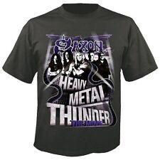 SAXON - Heavy Metal Thunder - T-Shirt - Größe Size XL - Neu