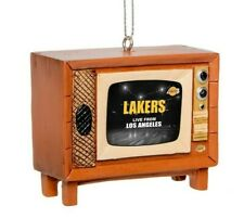 Los Angeles Lakers Christmas Tree Holiday Ornament New - Logo Nostalgia Retro TV