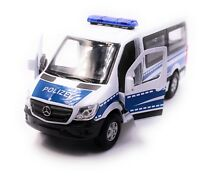 Mercedes Benz Sprinter Polizei Modellauto Auto Maßstab 1:34 (lizensiert)