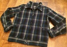 NWT $790 Ralph Lauren RRL Wool-Tweed-Plaid Check Zip Jacket Men's Size XL