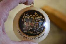 NOS Hangtown Harley-Davidson Placerville CA Custom Christmas Ornament