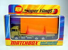 MATCHBOX Superking k-13b DAF Building TRANSPORTER Oro Verde Laccate BPL.