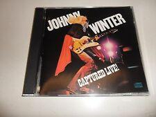 CD  Johnny Winter  – Captured Live!