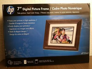 """*NEW* SEALED HP df730a2  7"""" LCD Digital Photo Frame in High Resolution (800×600)"""