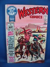 Super DC Giant #S-15 (Sep-Oct 1970, DC) WESTERN COMICS VF