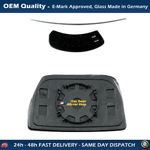 Blind Spot Wing Mirror Glass with base For IVECO Daily FITS To 2006 APR to 2014,