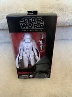 "STAR WARS BLACK SERIES TARGET EXCL 6"" FIRST ORDER ELITE SNOWTROOPER NON-MINT"