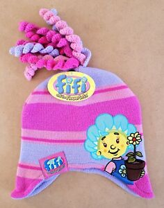 Fifi & The Flowertots – Fifi Kids/Girls Beanie Hat Size 1-3 New With Tags