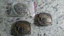 Vintage Belt Buckles Lot of 3