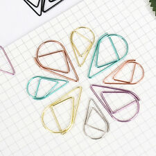Creative Cute Paper Clips Bookmark Memo Clip Office School Stationery 1PC