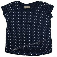 Girls' Spotted Crew Neck Short Sleeve Sleeve T-Shirts, Top & Shirts (2-16 Years)