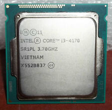 1 Intel SR1PL Processor i3 4170 3.70 GHz Free Shipping