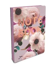 Studio Oh! Blush coptic bound compact notebook w/ rose gold lettering #CC006