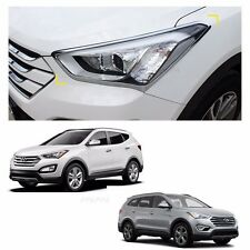 Head Lamp + Light Lamp + Fog Lamp For Hyundai Santa Fe SPORT 2013-2016