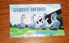 China Drum Goose Fair Postcard Promo 6x4