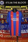 4.5/5 Barcelona boys 13-15 158-170cm 2016 home football shirt jersey trikot