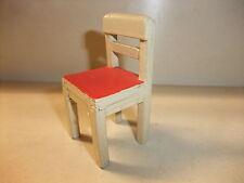 b Puppenstube Kaufmannsladen Möbel Küchenmöbel alt Stuhl Küchenstuhl Bauernstuhl