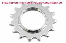 "FIXIE 15 TEETH 1/8""SPROCKET COG FOR FIXED WHEEL BIKES & FLIP FLOP WHEELS"