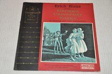 Erich Kunz - German University Songs - Uni Lieder - Album Vinyl Schallplatte LP