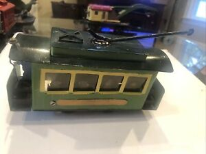 Lionel O Gauge ??  MPC Caboose Pre-war tin never seen before very unique