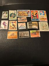 Stamps Sports Small Joblot